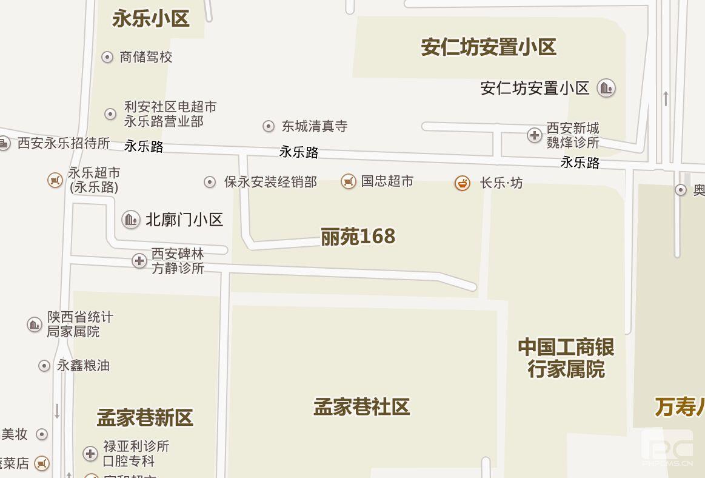 丽苑168小区西三楼