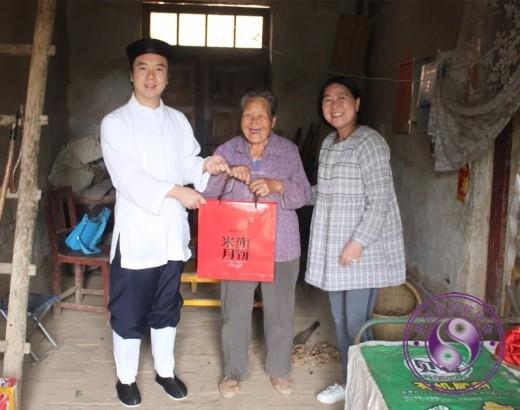 西安八仙宫助力精准扶贫,慰问临潼贫困家庭