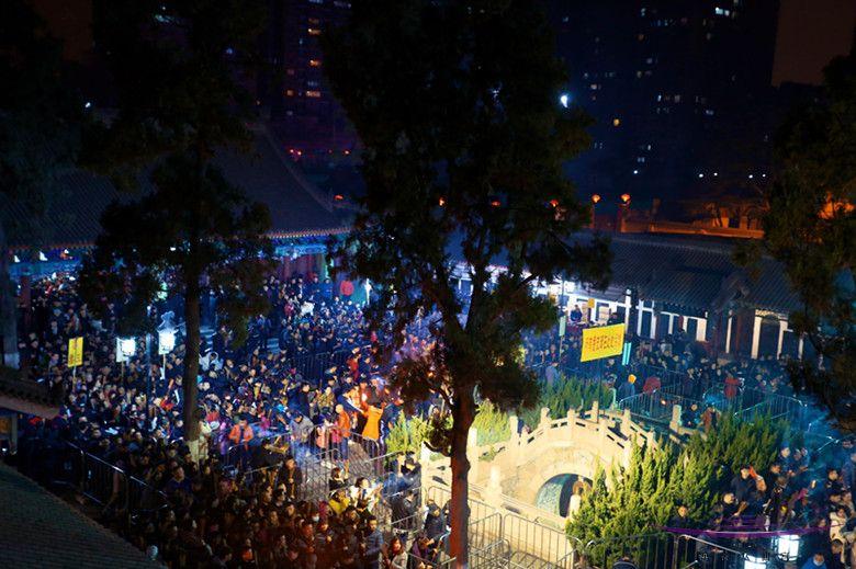 西安八仙宫举办戊戌年新春庙会