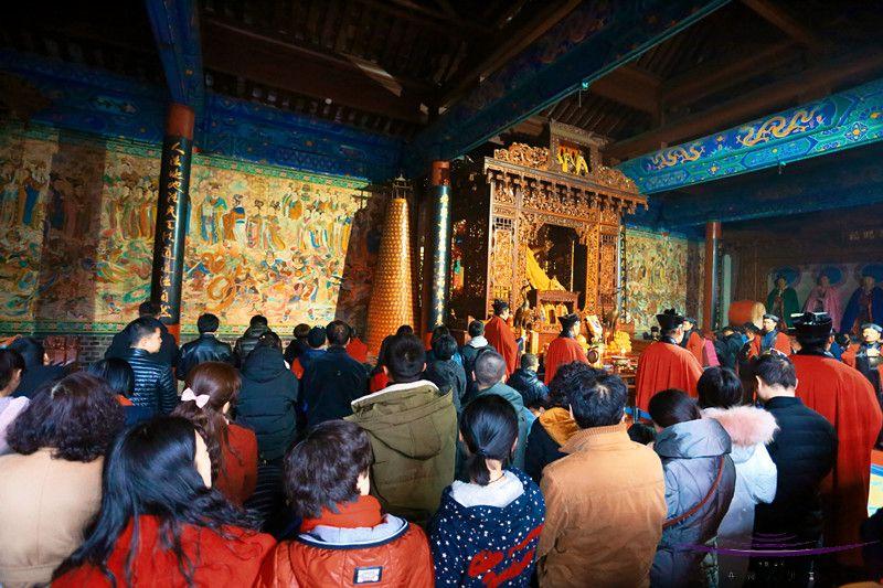 西安八仙宫举行戊戌年拜太岁大法会