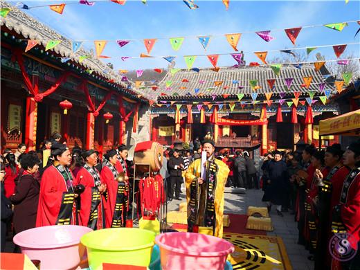 紫阳县显月观举行开光法会