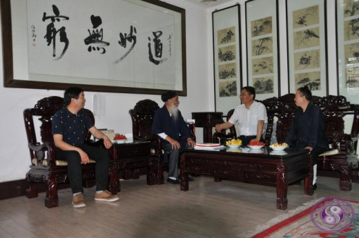 陕西省宗教局局长王爱民赴楼观台调研、拜访...