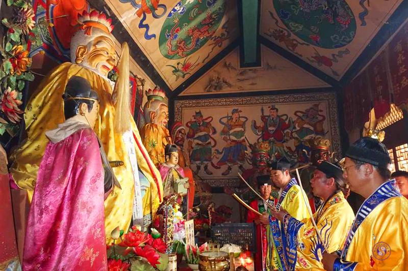 榆林市榆阳区太白庙举行祈福大法会
