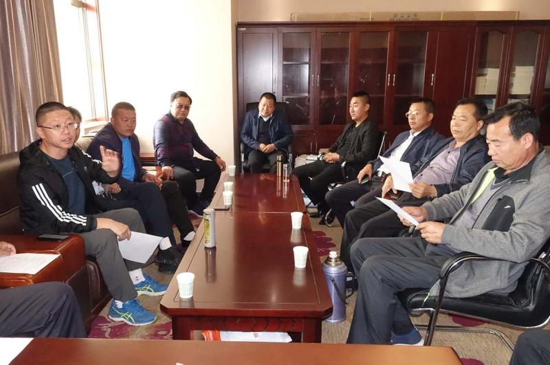 榆林榆阳道协召开改革管理、强化指导道观会议