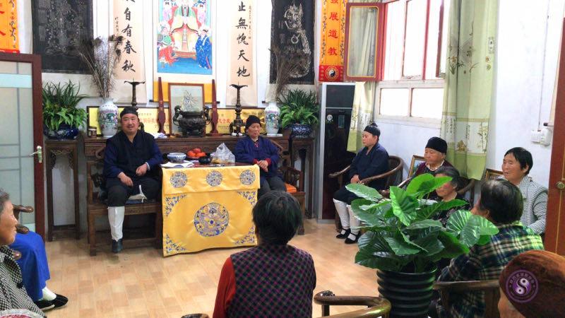 兴平市黄山宫成立庙监会