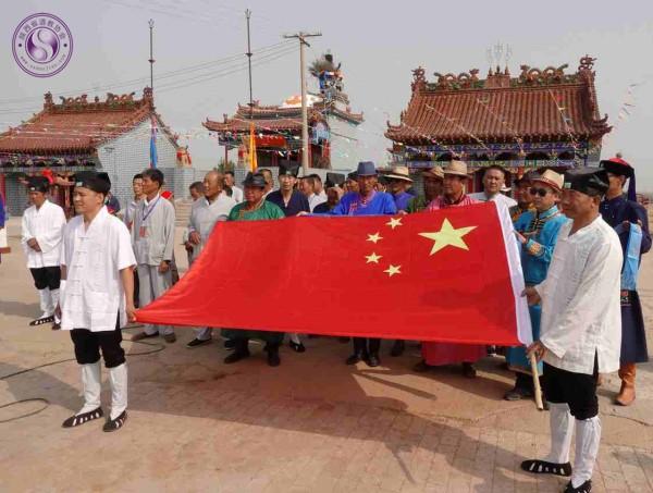 榆阳金克山道观举办蒙汉民族团结传统庙会