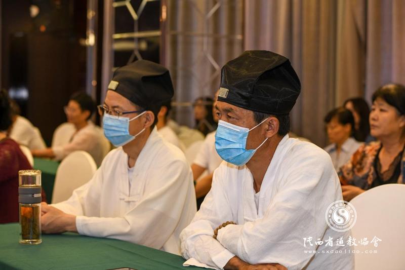 """韩城市道教界组织开展""""学党史、知党情、感..."""