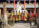 榆林市道协在佳县白云山道观举行举行和平祈祷法会